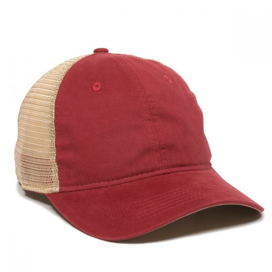 PWT-200M-Cardinal/Tea Stain-Adult
