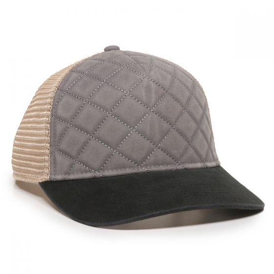 QLT-100M-Grey/Tea Stain/Black-One Size Fits Most