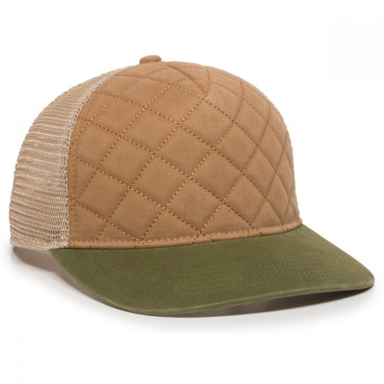 QLT-100M-Khaki/Tea Stain/Olive-One Size Fits Most