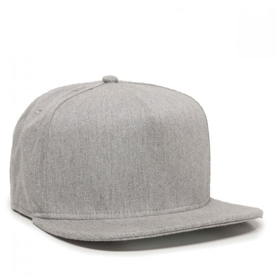 REDLBL102-Heathered Grey-One Size Fits Most