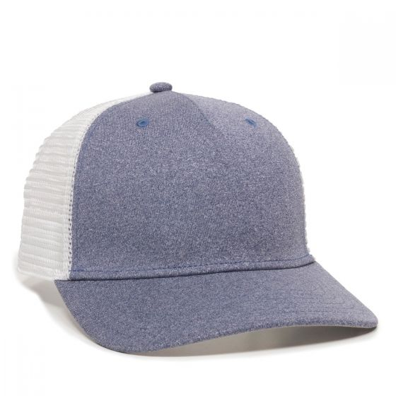 RGR-100M-Heathered Navy/White-One Size Fits Most