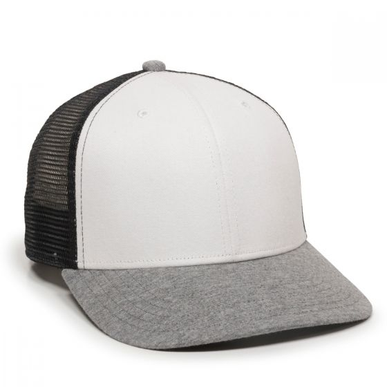 RGR-200M-White/Black/Heathered Grey-One Size Fits Most