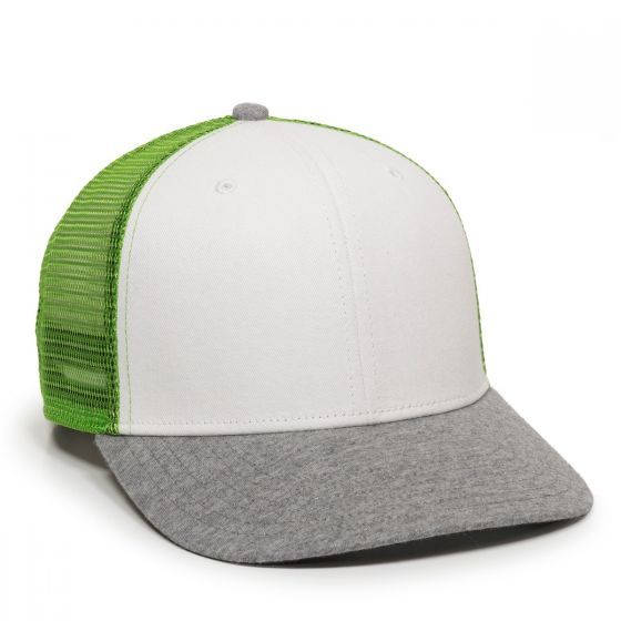 RGR-200M-White/Green/Heathered Grey-One Size Fits Most