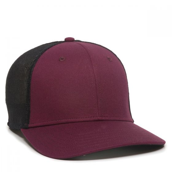 RGR-360M-Maroon/Black-One Size Fits Most
