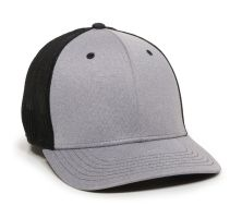 CT120M-Heathered Grey/Black-M/L