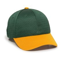 JM-123-Dark Green/Gold-Adult