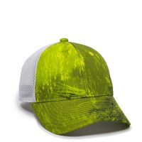 PFC-150M-Realtree Fishing™ Dark Lime/White-One Size Fits Most