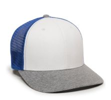 RGR-200M-White/Royal/Heathered Grey-One Size Fits Most