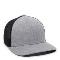 RGR-360M-Heathered Grey/Black-One Size Fits Most