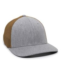 RGR-360M-Heathered Grey/Copper-One Size Fits Most