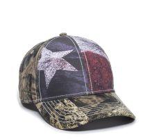 SUS-100-Texas Flag/ Mossy Oak® Break-Up Country®-Adult