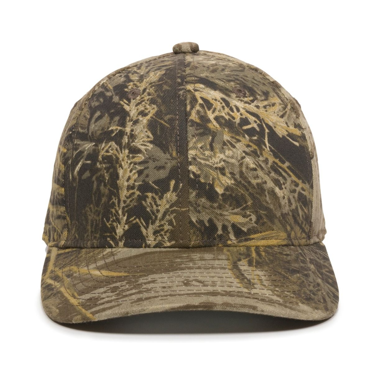Outdoor Cap Structured Camouflage Cap 301IS Camo Baseball Hat Snapback Closure