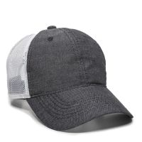 FWT-130CB-Heathered Black/ White-Adult