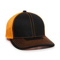 MBW-800-Black/Neon Orange-Adult