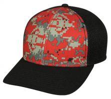 MWS1125-Digital Red /Black /Black-M/L