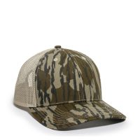 OC771CAMO-Mossy Oak® Original Bottomland®/Tan-One Size fits Most