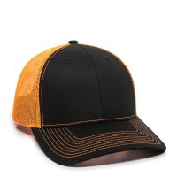 OC771-Black/Neon Orange-One Size Fits Most