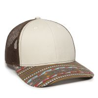 OC771P-Stone/Brown/Gold-One Size Fits Most