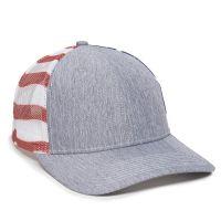 OC771PM-LN Heathered Grey/USA-One Size Fits Most