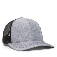 OC771V-LN-Heathered-Grey-Black-One Size Fits Most