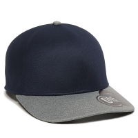 REEVO-Navy/Heathered Grey-M/L