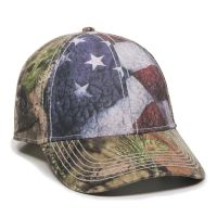 SUS-100-American Flag/ Mossy Oak® Break-Up Country®-Adult