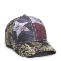 SUS-100-Texas Flag/ Mossy Oak® Break-Up Country®-Adult
