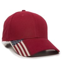 USA-300-Red-One Size Fits Most