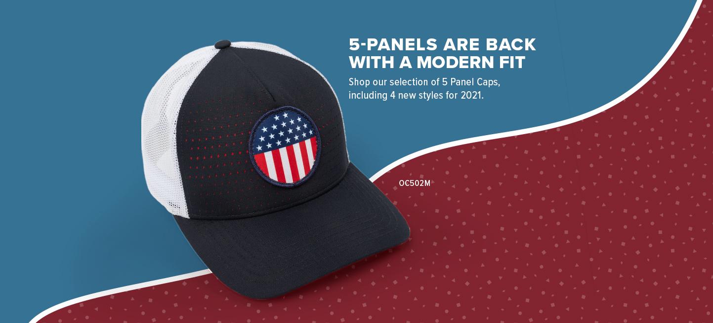 5 Panel Caps Are Trending