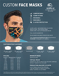 Face Masks Flyer
